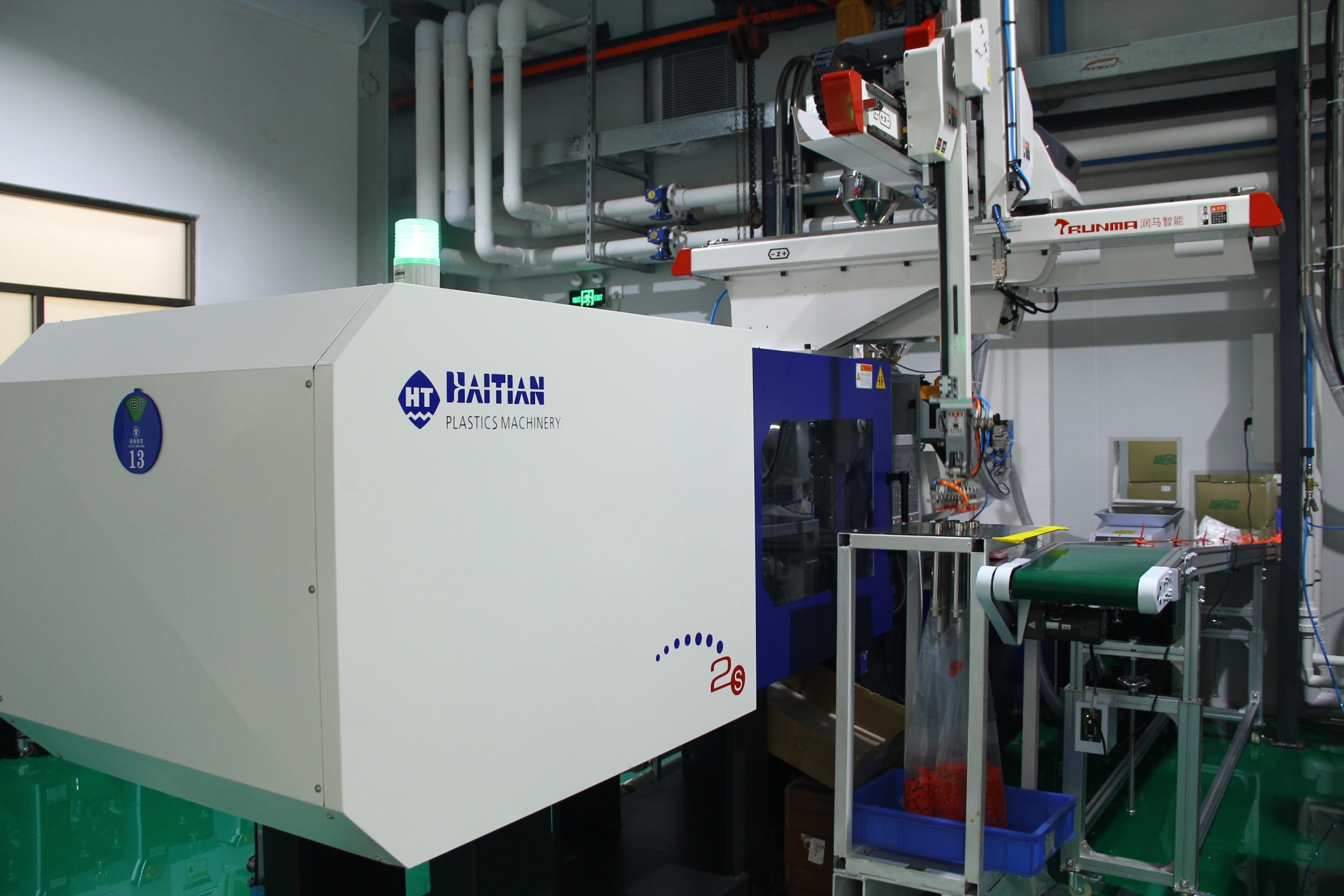 Our dust-free injection molding department was launched at the end of 2019.