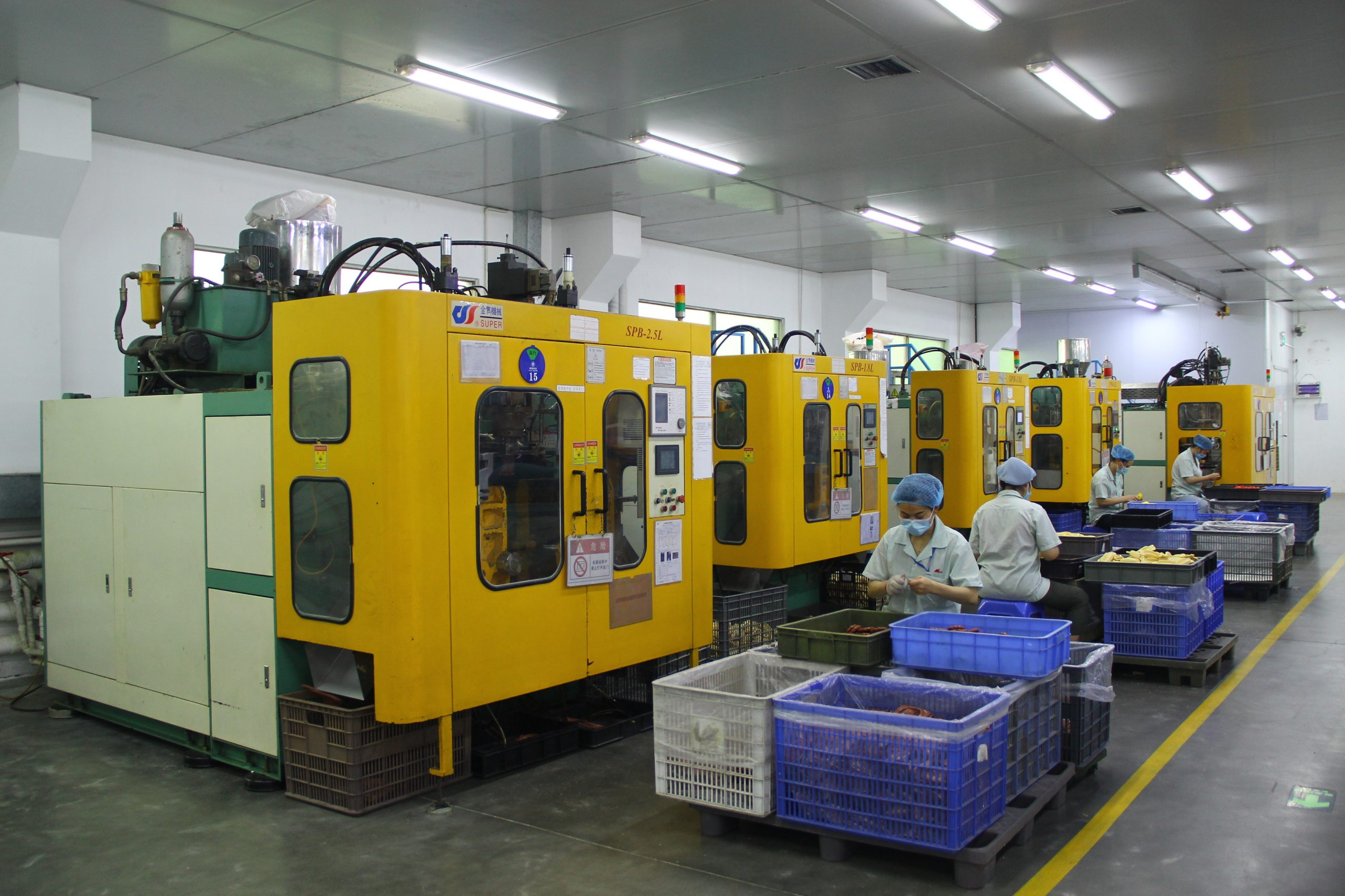 Except Injection Molding, we also produce blow molding toys.