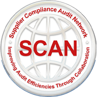 We are certified by SCAN (Supplier Compliance Audit Networks).