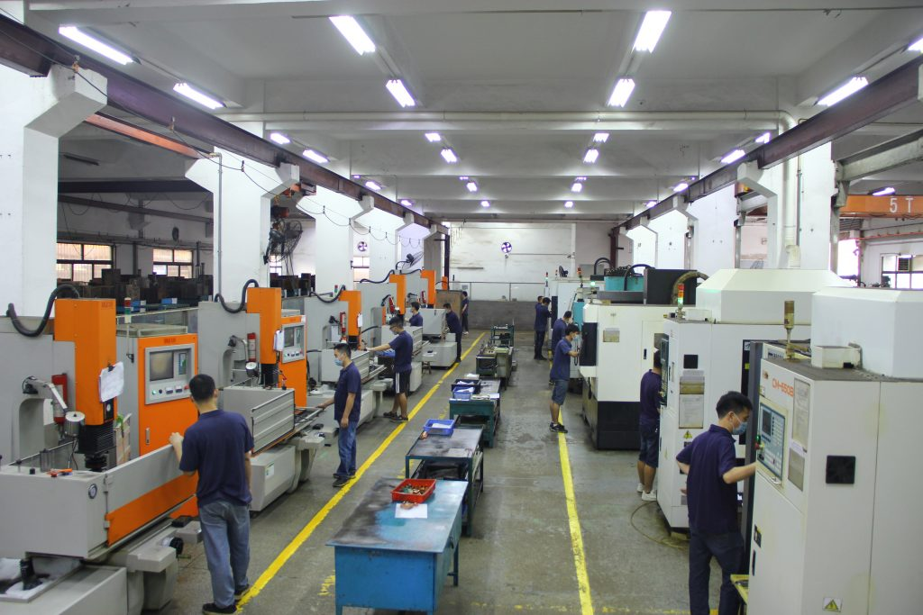 Our factory have our own Mold building workshop. We specialize in making tooling for plastic products.