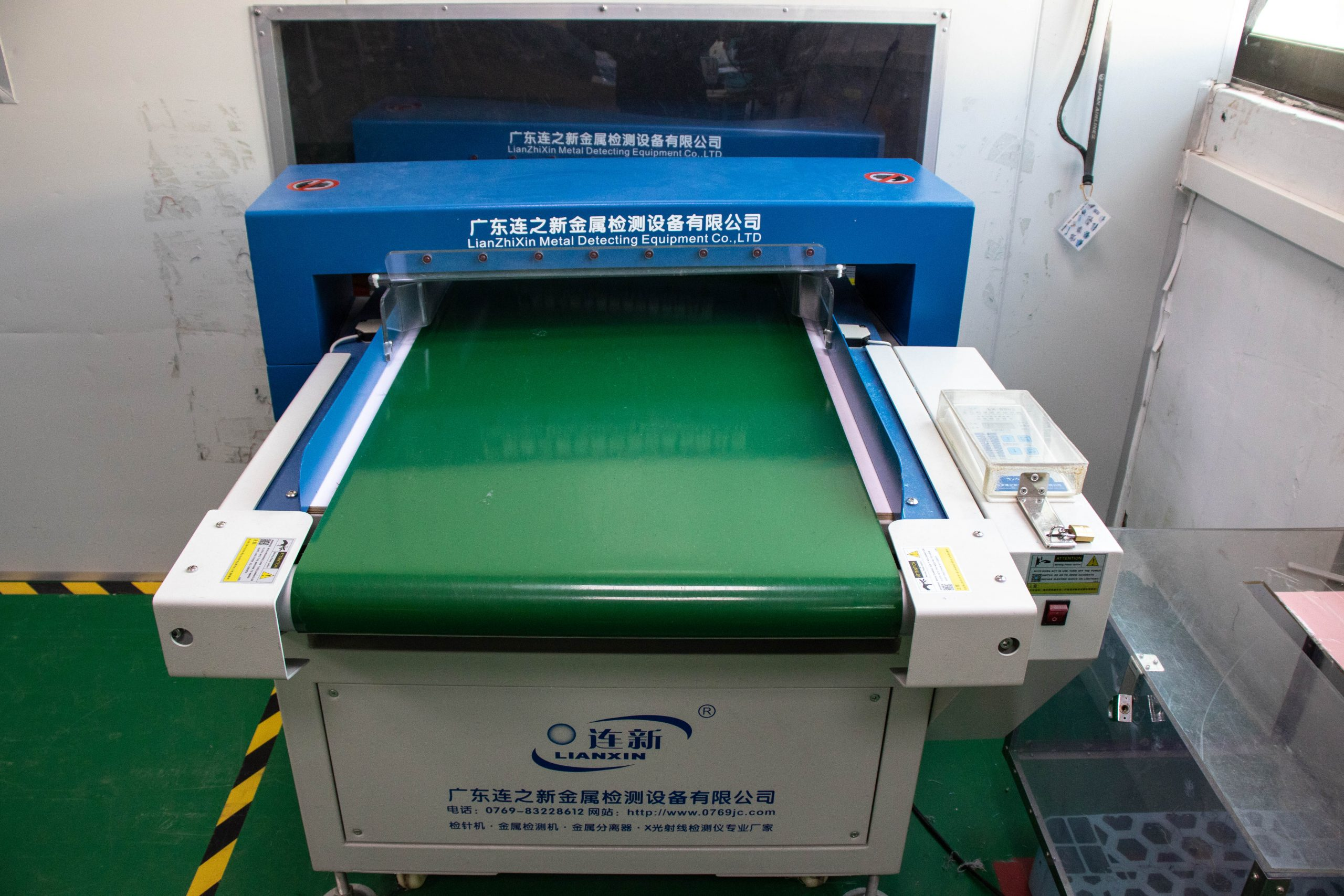 Our dust free production lines.